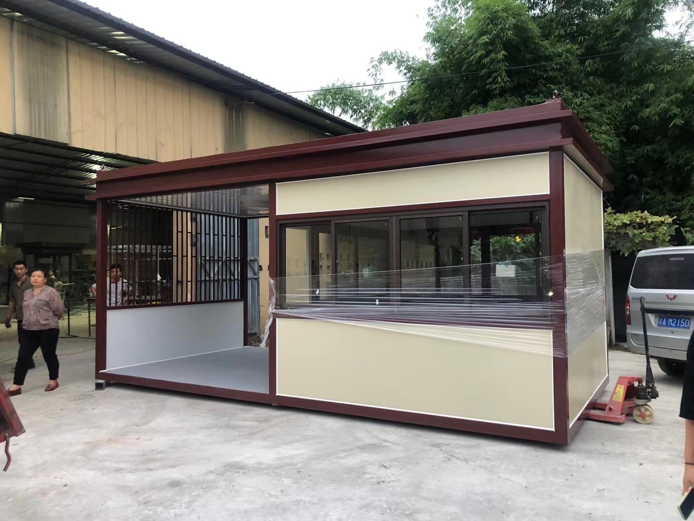 磁器口集装箱商铺定制案